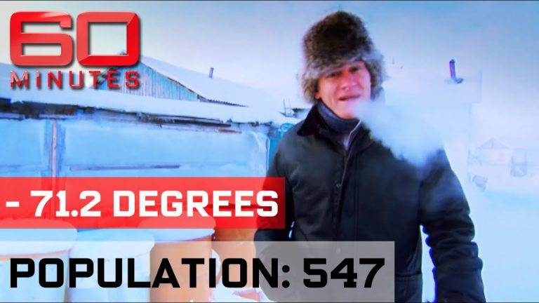Visiting the coldest town in the world (2018)
