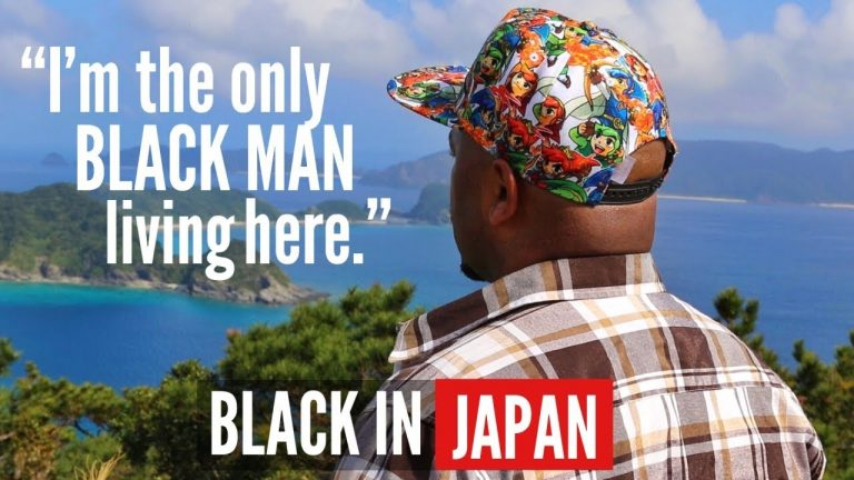 Meet the Only Black Man Living on This Japanese Island (Black in Japan)