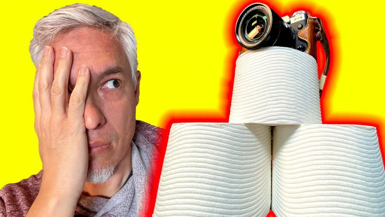 How Photography Caused the Toilet Paper Famine (Misleading Photojournalism)