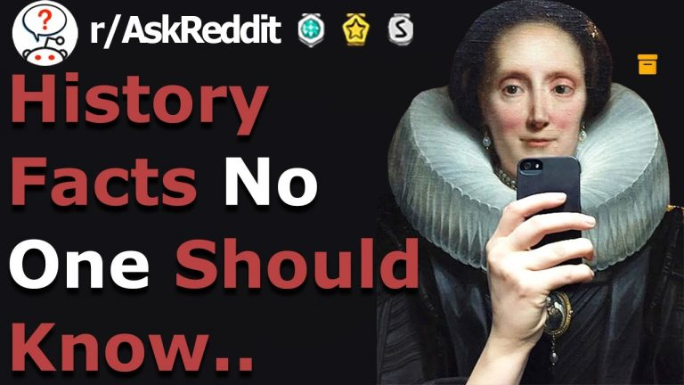 REVEALING History Facts You Shouldn't Know..