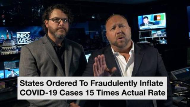 Breaking: States Ordered To Fraudulently Inflate COVID-19 Cases 15 Times Actual Rate