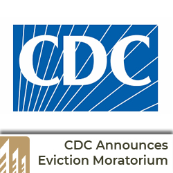 ALL EVICTIONS STOPPED (U.S.): CDC Eviction Moratorium